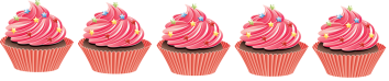 5 cakes