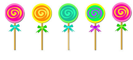 how to change the colour of lollipops candies